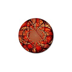 Dreamcatcher Stained Glass Golf Ball Marker (4 Pack) by Amaryn4rt