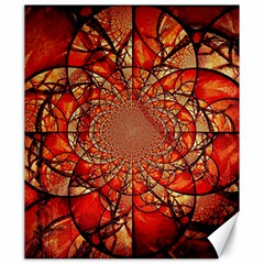 Dreamcatcher Stained Glass Canvas 20  X 24   by Amaryn4rt