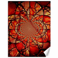 Dreamcatcher Stained Glass Canvas 36  X 48   by Amaryn4rt