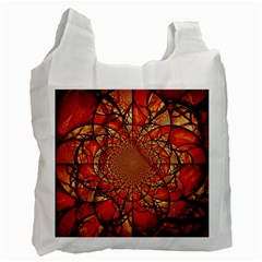 Dreamcatcher Stained Glass Recycle Bag (one Side)