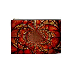 Dreamcatcher Stained Glass Cosmetic Bag (medium)  by Amaryn4rt