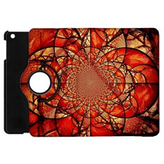 Dreamcatcher Stained Glass Apple Ipad Mini Flip 360 Case by Amaryn4rt