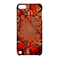 Dreamcatcher Stained Glass Apple Ipod Touch 5 Hardshell Case With Stand by Amaryn4rt