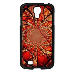 Dreamcatcher Stained Glass Samsung Galaxy S4 I9500/ I9505 Case (black) by Amaryn4rt