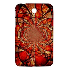 Dreamcatcher Stained Glass Samsung Galaxy Tab 3 (7 ) P3200 Hardshell Case  by Amaryn4rt