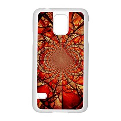 Dreamcatcher Stained Glass Samsung Galaxy S5 Case (white) by Amaryn4rt
