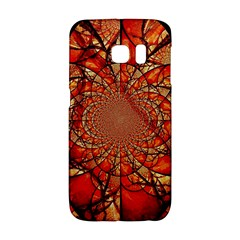 Dreamcatcher Stained Glass Galaxy S6 Edge by Amaryn4rt