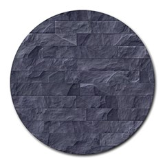 Excellent Seamless Slate Stone Floor Texture Round Mousepads by Amaryn4rt