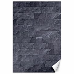 Excellent Seamless Slate Stone Floor Texture Canvas 24  X 36  by Amaryn4rt