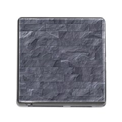 Excellent Seamless Slate Stone Floor Texture Memory Card Reader (square) by Amaryn4rt