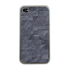 Excellent Seamless Slate Stone Floor Texture Apple Iphone 4 Case (clear)