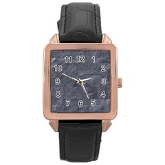 Excellent Seamless Slate Stone Floor Texture Rose Gold Leather Watch