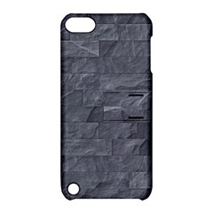 Excellent Seamless Slate Stone Floor Texture Apple Ipod Touch 5 Hardshell Case With Stand by Amaryn4rt