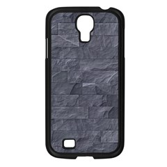 Excellent Seamless Slate Stone Floor Texture Samsung Galaxy S4 I9500/ I9505 Case (black) by Amaryn4rt