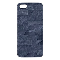 Excellent Seamless Slate Stone Floor Texture Iphone 5s/ Se Premium Hardshell Case by Amaryn4rt