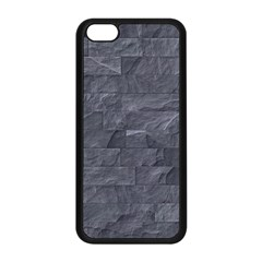 Excellent Seamless Slate Stone Floor Texture Apple Iphone 5c Seamless Case (black) by Amaryn4rt