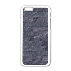 Excellent Seamless Slate Stone Floor Texture Apple Iphone 6/6s White Enamel Case