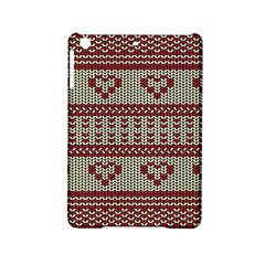Stitched Seamless Pattern With Silhouette Of Heart Ipad Mini 2 Hardshell Cases by Amaryn4rt