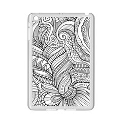 Zentangle Art Patterns Ipad Mini 2 Enamel Coated Cases by Amaryn4rt