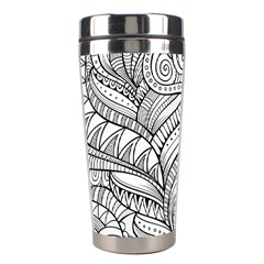 Zentangle Art Patterns Stainless Steel Travel Tumblers