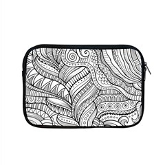 Zentangle Art Patterns Apple Macbook Pro 15  Zipper Case by Amaryn4rt