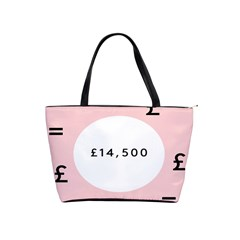 Added Less Equal With Pink White Shoulder Handbags