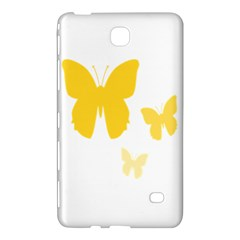Yellow Butterfly Animals Fly Samsung Galaxy Tab 4 (7 ) Hardshell Case