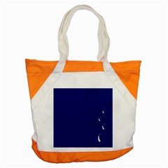 Bubbles Circle Blue Accent Tote Bag