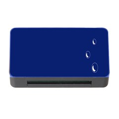 Bubbles Circle Blue Memory Card Reader With Cf