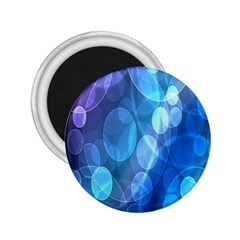 Circle Blue Purple 2 25  Magnets