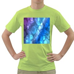 Circle Blue Purple Green T Shirt