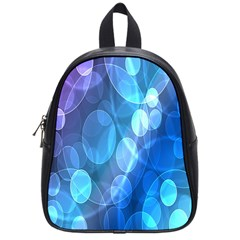 Circle Blue Purple School Bags (small)  by Alisyart