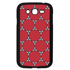 Circle Red Purple Samsung Galaxy Grand Duos I9082 Case (black) by Alisyart