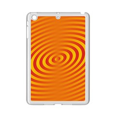 Circle Line Orange Hole Hypnotism Ipad Mini 2 Enamel Coated Cases