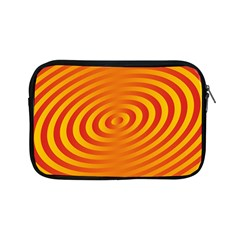 Circle Line Orange Hole Hypnotism Apple Ipad Mini Zipper Cases by Alisyart