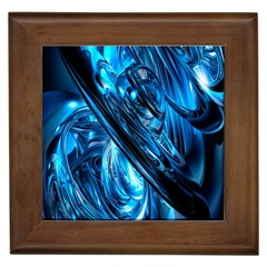 Blue Wave Framed Tiles