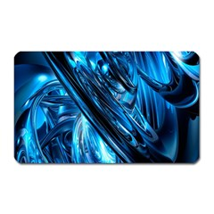 Blue Wave Magnet (rectangular)