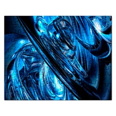 Blue Wave Rectangular Jigsaw Puzzl