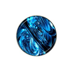 Blue Wave Hat Clip Ball Marker by Alisyart