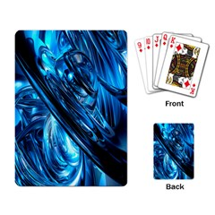 Blue Wave Playing Card