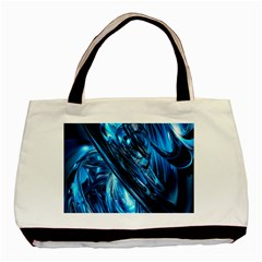 Blue Wave Basic Tote Bag