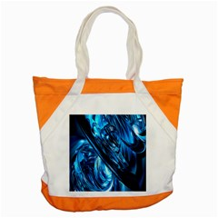 Blue Wave Accent Tote Bag