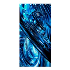 Blue Wave Shower Curtain 36  X 72  (stall)