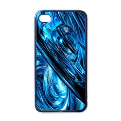 Blue Wave Apple Iphone 4 Case (black)