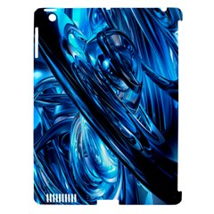 Blue Wave Apple Ipad 3/4 Hardshell Case (compatible With Smart Cover) by Alisyart