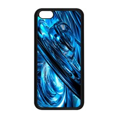Blue Wave Apple Iphone 5c Seamless Case (black)