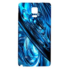 Blue Wave Galaxy Note 4 Back Case