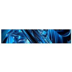 Blue Wave Flano Scarf (small) by Alisyart