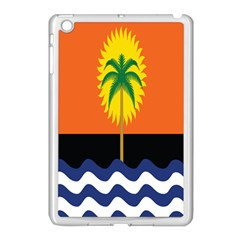 Coconut Tree Wave Water Sun Sea Orange Blue White Yellow Green Apple Ipad Mini Case (white) by Alisyart