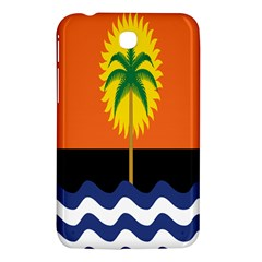Coconut Tree Wave Water Sun Sea Orange Blue White Yellow Green Samsung Galaxy Tab 3 (7 ) P3200 Hardshell Case  by Alisyart